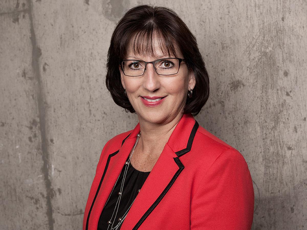 Portrait of Heidi Sevcik smiling